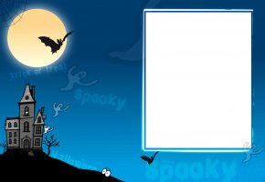 Livre Photo Halloween Blue